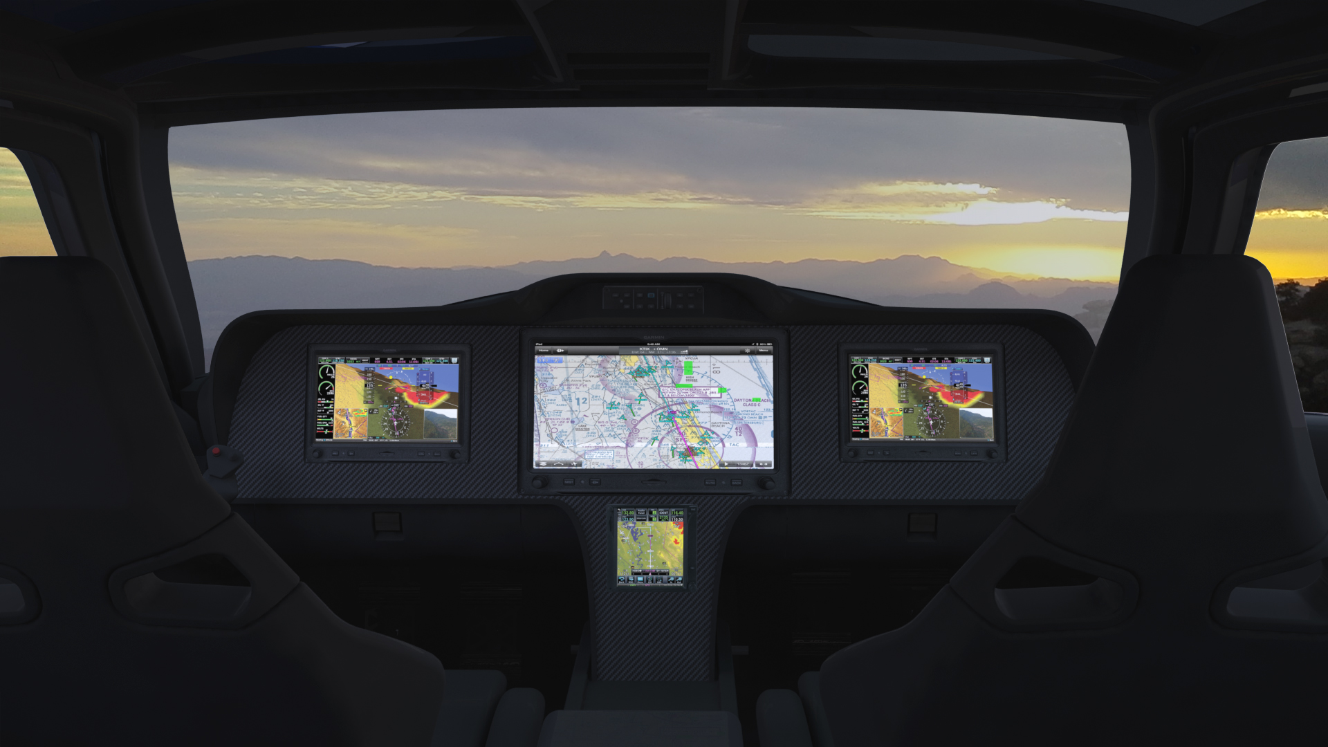 Raptor Aircraft Interior