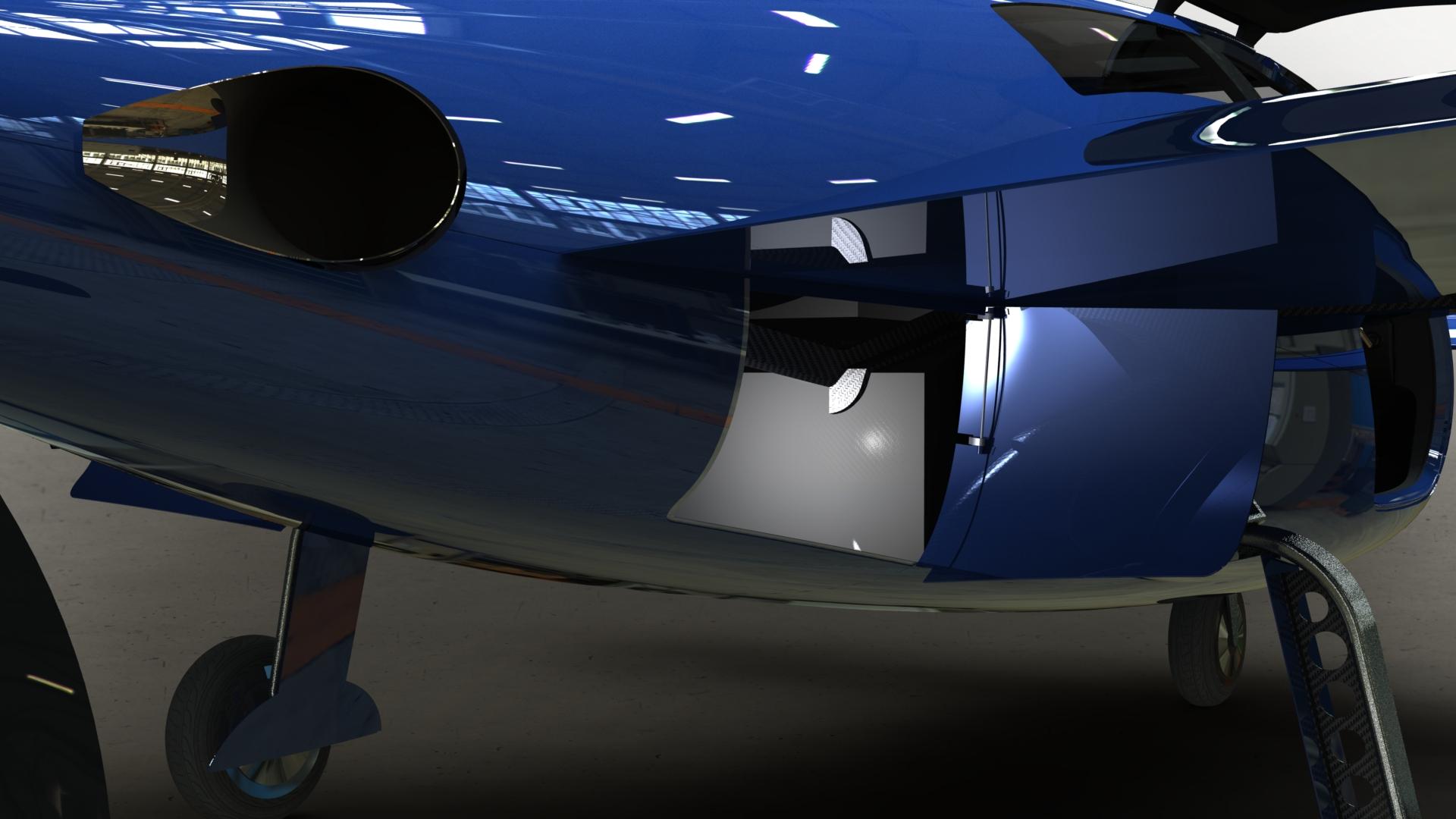 Raptor Aircraft Baggage